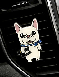 Parabens da grade da saída do carro do animal de estimação do filhote de cachorro bonito criativo bonito do animal de estimação do animal