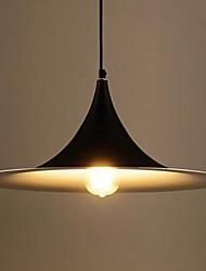 estilo europeo simple una cabeza de hierro restaurante bar retro país industrial viento trompeta colgante de iluminación
