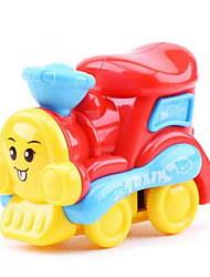 Поезд Экипаж Игрушки на солнечных батареях Пластик