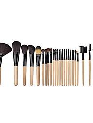 Pincel Abanico Cepillo para Polvos Cepillo para Base Sistemas de cepillo Cepillo para Colorete Pincel para Sombra de Ojos Cepillo de