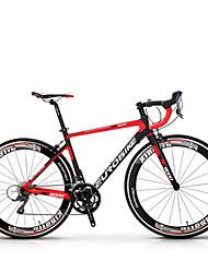Cruiser Bike Cycling 18 Speed 26 Inch/700CC SHIMANO Disc Brake Non-Damping Steel Frame Carbon Anti-slip Aluminium AlloyCarbon Fiber + EPS