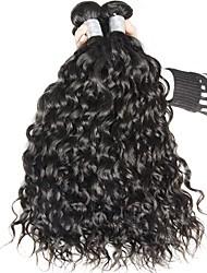 Indian Natural Color Virgin Hair Deep Wave Weaves 3bundles 12inch-24inch
