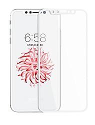 Vidrio Templado Protector de pantalla para Apple iPhone X Protector de Pantalla Frontal Protector de Pantalla, Integral Borde Curvado