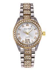 Жен. Часы со скелетом Модные часы Имитационная Четырехугольник Часы Китайский Кварцевый сплав Группа Повседневная Серебристый металл
