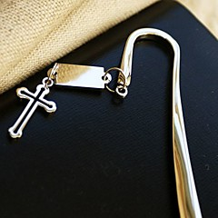 """""""Timeless"""" Cross Bookmark Favor With Gift Box"""