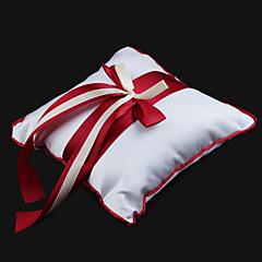 Подушка для обручальных колец из атласа