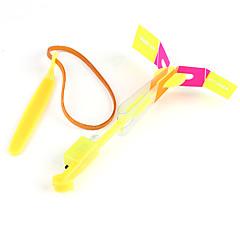 vezette repülő helikopter esernyő jet gumi szitakötő (7 szín led / 10 készlet)