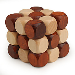 Rubikova kostka Hladký Speed Cube 3*3*3 Rychlost profesionální úroveň Magické kostky Dřevo
