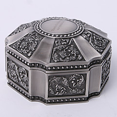 dom presentes da dama de honra caixa de jóias hexágono personalizado tutania do vintage