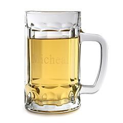 個人化された名前のビールのジョッキ