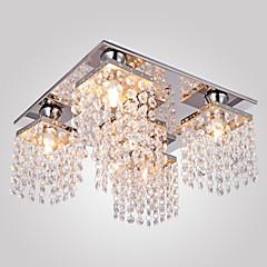 Max 25W Unterputz ,  Zeitgenössisch Galvanisierung Feature for Kristall Metall Wohnzimmer / Schlafzimmer / Korridor