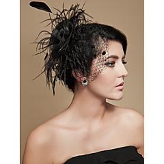 Women's Tulle Headpiece-Wedding / Special Occasion Fascinators