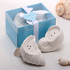Ceramic Practical Favors-2 Kitchen Tools Beach Theme White 3.5*4.5*5CM