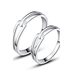 Classic 925 Sterling Silver Couples Rings