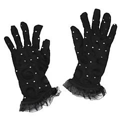Wrist Length Fingertips Glove Nylon Bridal Gloves / Party/ Evening Gloves Spring / Summer / Fall / Winter