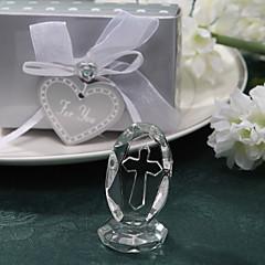 כלה שושבינה נערת פרחים מתנות חתיכה / סט פריטי קריסטל חתונה יום שנה יומהולדת חנוכת בית קריסטל לא מותאם אישית פריטי קריסטל קופסאת מתנה