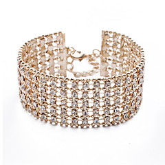 Charming 18K Gold Plated with Crystal Bracelet More Colors