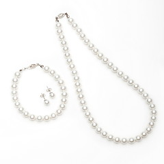 Jewelry Set Women's Anniversary / Gift / Party / Special Occasion Jewelry Sets Imitation Pearl / Alloy Imitation PearlNecklaces /