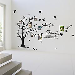 Botanisch Wand-Sticker Flugzeug-Wand Sticker Dekorative Wand Sticker / Foto Sticker,Self-adhesive Plastic Stoff Abziehbar / WaschbarHaus