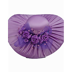 Women's Satin Headpiece-Special Occasion / Casual / Outdoor Hats