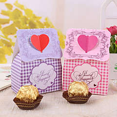 12 Piece/Set Favor Holder Card Paper Favor Boxes Non-personalised