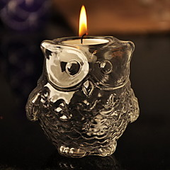 Owl Shaped Candle Favor