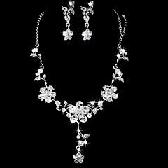 Ensemble de bijoux Femme Anniversaire / Mariage / Fiançailles / Cadeau / Sorée / Occasion spéciale Parures Alliage Stras / ZirconColliers