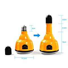 E27 4W LED izzó fehér újratölthető vészvilágítás lámpa Spotlight távirányítóval (cisz-57183)