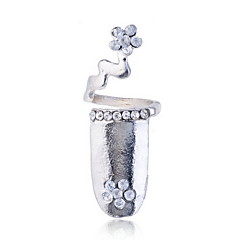 Ring Women's Rhinestone Alloy Alloy Adjustable As the PictureColor & Style representation may vary by monitor. Not responsible for