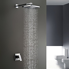 Sprinkle® Duscharmaturen  ,  Moderne  with  Chrom Ein Griff Zwei Löcher  ,  Feature  for Wand