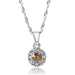 Shining Alloy With Rhinestone Women's Necklace(More Colors)