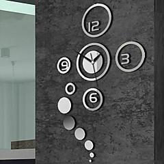 """40 """"kreativen Spiegel Mode-Wanduhr"""