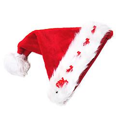 Hoeden Kerstmanpakken Festival/Feestdagen Halloween Kostuums Rood Hoed Kerstmis Fluweel