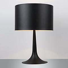 maishang® Gentleman moderne Stehleuchte schwarz Trommel Schatten