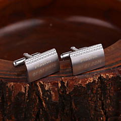 Gift Groomsman Personalized Cufflinks