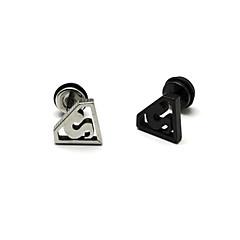 Beszúrós fülbevalók Rozsdamentes acél Titanium Acél 1 2 3 4 Ékszerek Mert Parti Napi Karácsonyi ajándékok