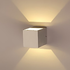 Erröten-Einfassung Wandleuchten-LED / Birne inklusive-Modern/Zeitgemäß-Metall