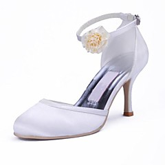 Women's Wedding Shoes Heels/Closed Toe Heels Wedding/Party & Evening Black/Blue/Pink/Purple/Red/Ivory/White/Gold