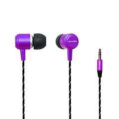 Fashion AWei  Q353.5mm Plug In-Ear Aluminum Alloy Super Bass  Earphones