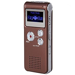 Nyeste 8G MP3 Digital Voice Recorder (kaffe)