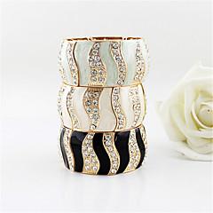Alliage gracieuse avec le bracelet de femmes de Rhinestone (plus de couleurs)