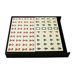34 milímetros de material ambiental paperback boutique casa mahjong verde automático