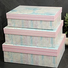 3 Piece/Set Favor Holder - Cuboid Card Paper Gift Boxes Non-personalised