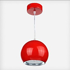 1w Pendelleuchten ,  Zeitgenössisch / Kugel Korrektur Artikel Feature for LED MetallEsszimmer / Küche / Studierzimmer/Büro / Kinderzimmer
