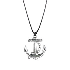 Fashion Stainless Steel Anchor Pendant Necklace  Christmas Gifts
