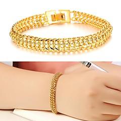 נשים צמידי חפתים עיצוב מיוחד אופנתי תכשיטים ציפוי זהב זהב 18K תכשיטים תכשיטים עבור חתונה Party יומי קזו'אל Christmas Gifts