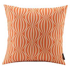 oranje watermeloen gekoppeld katoen / linnen decoratieve kussensloop