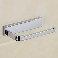 WC-Rollenhalter,Modern Chrom Wandmontage