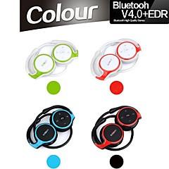 v4.0 + EDR fone de ouvido estéreo Bluetooth dos esportes pescoço-band com microfone para samsung iphone outras mais