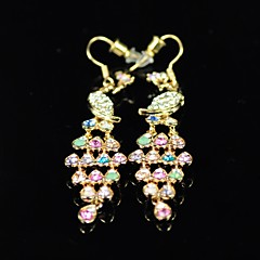 Women's Rhinestone Animal Earrings